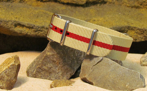 The Weekender Ballistic Nylon Strap w/ Polished Hardware 20mm