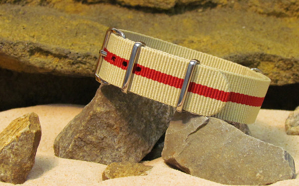 The Weekender NATO Strap w/ Polished Hardware 18mm