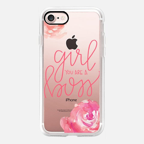 GIRL YOU ARE A BOSS PHONE CASE