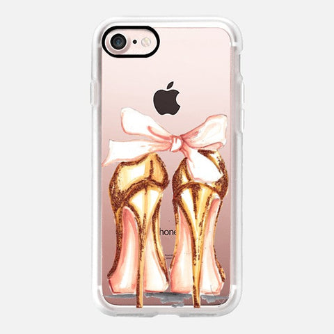 GOLDEN HEELS PHONE CASE