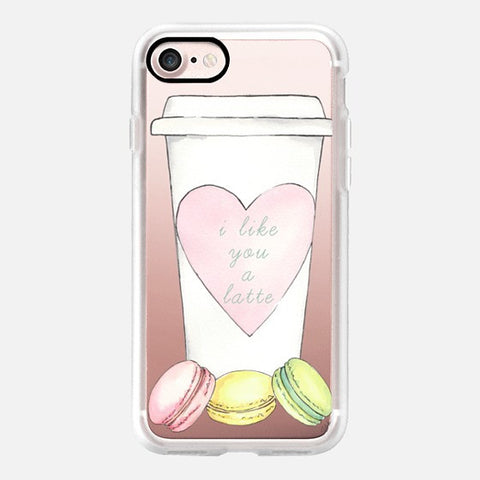 I LIKE YOU A LATTE PHONE CASE