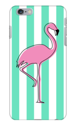 FLAMINGO IN ARUBA TURQUOISE PHONE CASE