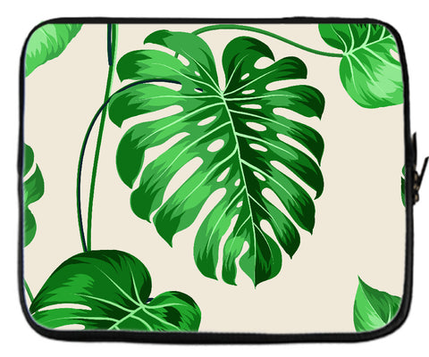 TROPICAL PLANTS LAPTOP COVER
