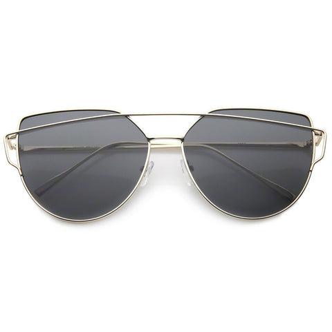 Instareadi Sunglasses - Gold Wire