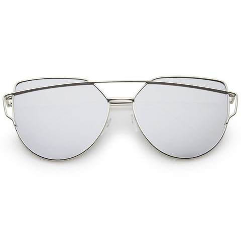 Instareadi Sunglasses - Silver Mirror