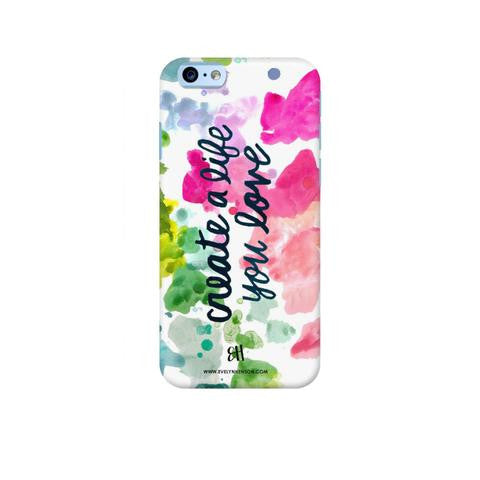 PAINT PALETTE PHONE CASE