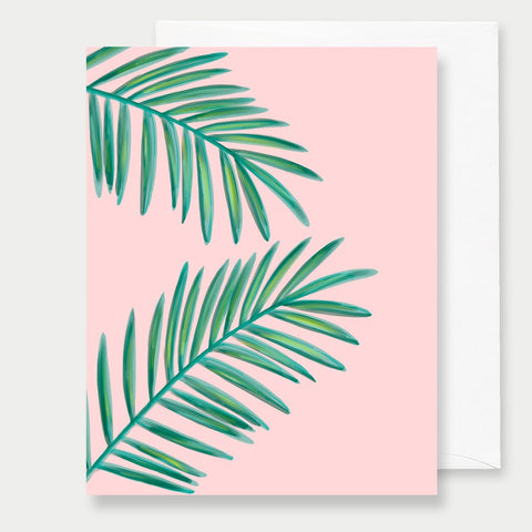 PALMS - A2 GREETING CARD