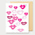 LIPS - A2 GREETING CARD