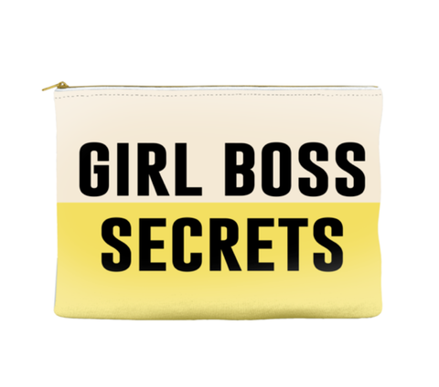 GIRL BOSS SECRETS - POUCH