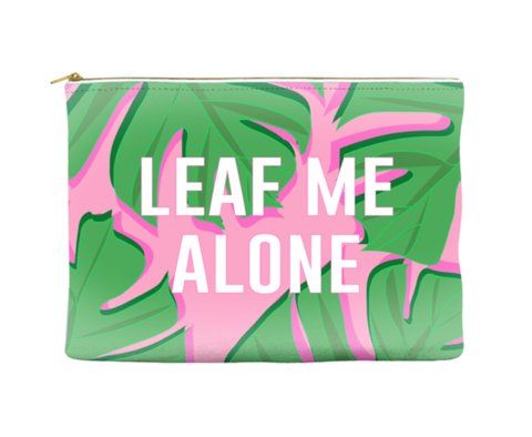 LEAF ME ALONE - POUCH