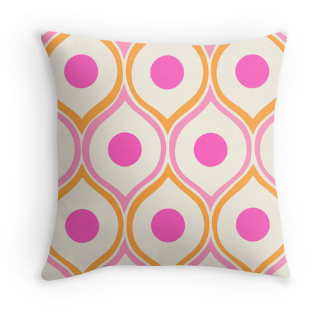 MID CENTURY PATTERN - DECOR PILLOW