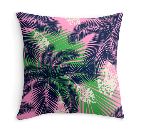PALM PATTERN - DECOR PILLOW