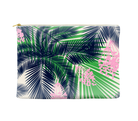 PALM PATTERN - POUCH