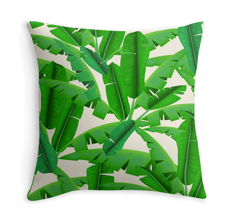 BANANA LEAVES - DECOR PILLOW
