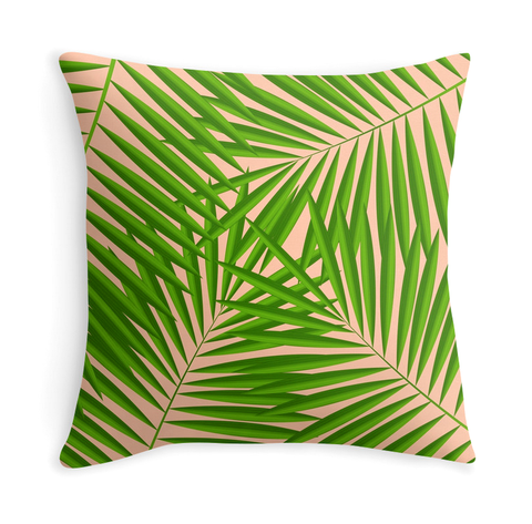 PALM LEAVES - DECOR PILLOW
