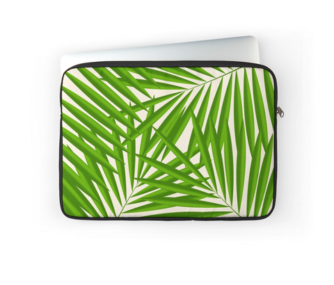 TROPICAL PALMS LAPTOP COVER