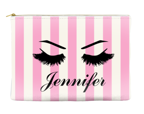 PERSONALIZED BRIDESMAID LASHES - POUCH