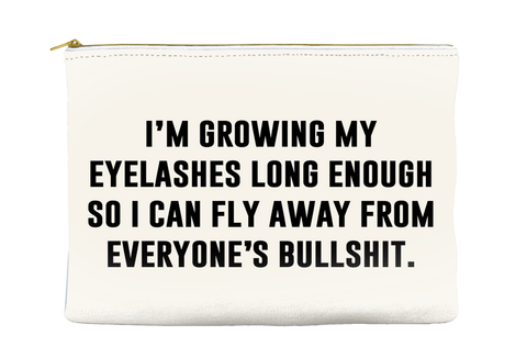 FLY AWAY FROM BULLSHIT - POUCH
