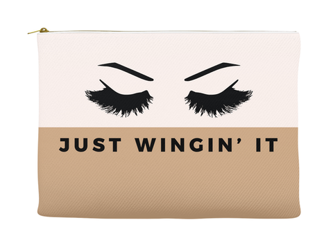 JUST WINGIN' IT - RETRO POUCH