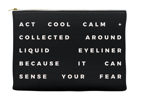 COOL, CALM AND COLLECTED - RETRO POUCH