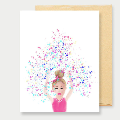 CONFETTI - A2 GREETING CARD