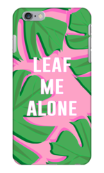 LEAF ME ALONE PHONE CASE