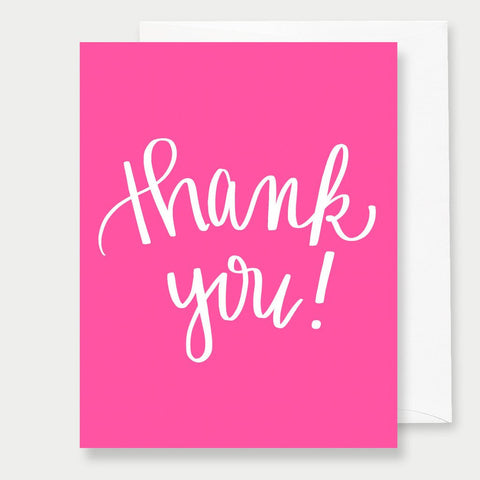 THANK YOU - A2 GREETING CARD