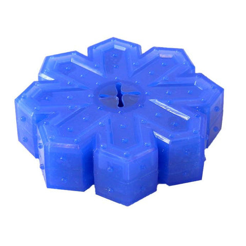 Arctic Freeze Snowflake Dog Toy Blue