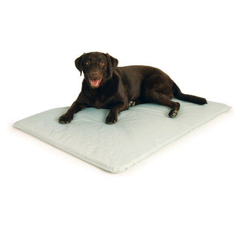 Cool Bed III Thermoregulating Pet Bed Large Gray