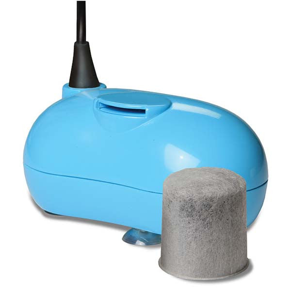 Drinkwell Hy-drate Healthy Pet Waterer Blue