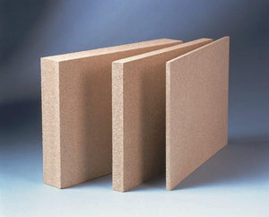NEUEX Vermiculite Replacement Panels - No Design / Plain / Hearth (Floor) Panel