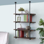 4 tier Pipe Bookshelf