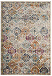 "Multicolored Bohemian Distressed Rug (5'1"" x 7'6"")"