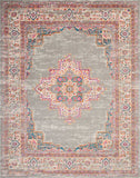 Nourison Passion Grey Area Rug, 8'X10'