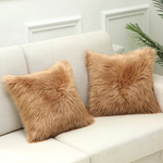 Fluffy Faux Fur Cushion Cover