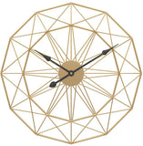 Nordic Metal Wall Clock
