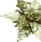 Poinsettias Christmas Tree Ornament