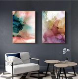 Watercolour Marble Poster
