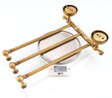 Antique Brass Towel Holder 3-4 Tiers
