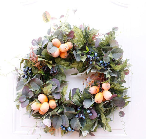 Fall Door Decoration Wreath