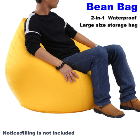 Large Bean Bag Lounger Chair