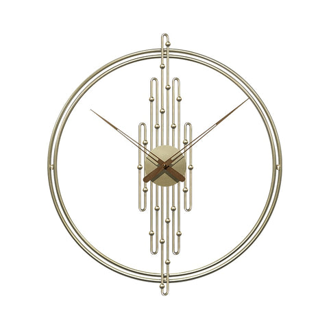 European Wrought Wall Clock