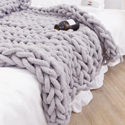 Handmade Coarse Wool Blanket