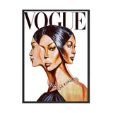 Vogue Woman Poster