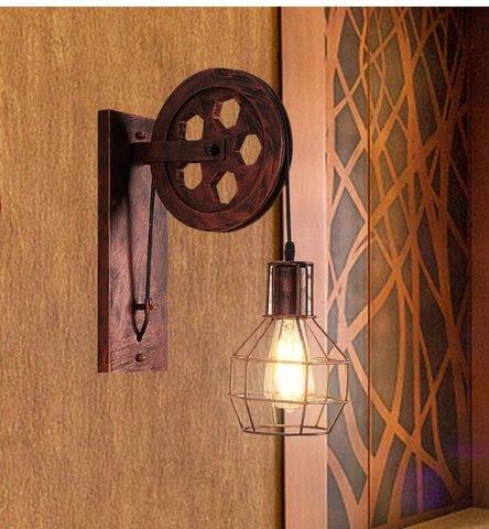 Pulley Wall Lamp
