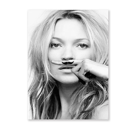 Kate Moss Canvas Poster
