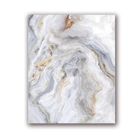 Marble Canvas Painting