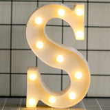 LED Letter Night Light