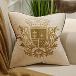 Royal Embroidery Pillow Cover