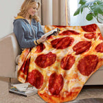 Soft Pizza Blanket